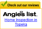 Angie's List - Topeka Home Inspectors